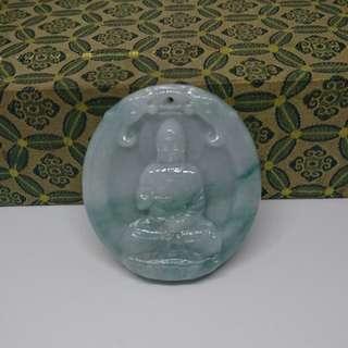 🚚 天然A貨緬甸翡翠玉-如來佛祖