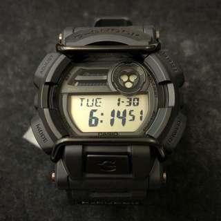 Casio G-Shock HUF 2015 GD-400HUF-1 GD-400HUF GD-400 全黑 爆裂紋