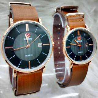 RADO LEATHER COUPLE EXCLUSIVE