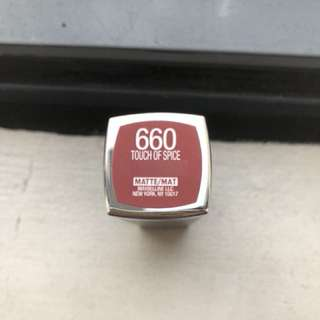 Maybelline Touch of Spice 660 Matte