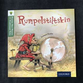💥NEW- Oxford Practice Your Phonics with Traditional Tales - Rumpelstiltskin  (Level 7) - Children Storybooks