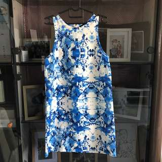 MDS Floral Shift Dress - M