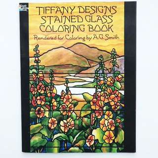 Book: Tiffany Designs Stained Glass Coloring Book (Dover Design Stained Glass Coloring Book)