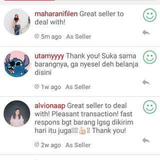 Testimoni~ thank you my beloved buyers ✨