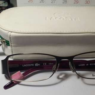 Authentic Lacoste frame for women Repriced