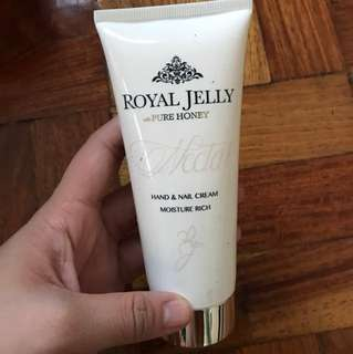 Royal Jelly with Pure Honey Hand and Nail Cream