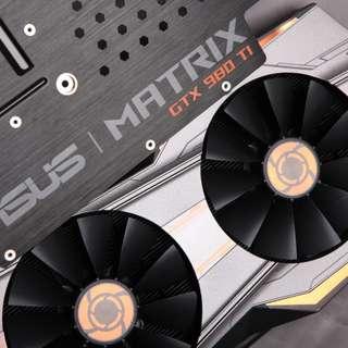 Fan and heat sink ASUS ROG Matrix GTX 980 Ti