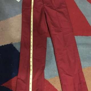 Original Fred bracks slacks size 8 waist line 11 inches long 31