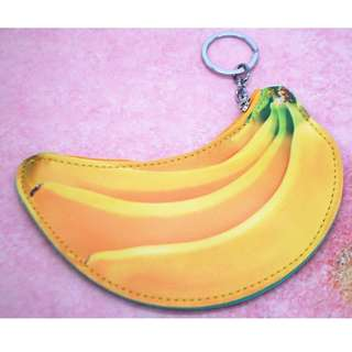 Fashion Cute Korean coin purse with key chain