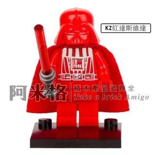 阿米格Amigo│KZ紅達斯維達 Darth Vader 星際大戰 達斯維達 Star Wars 人仔 滿30只包郵
