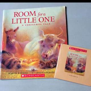 Scholastic Room For A Little One CD + Book