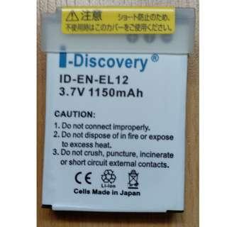 I-Discovery 3.7V 1150mAh Camera Battery