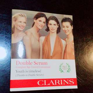Clarins Double Serum special sample pack