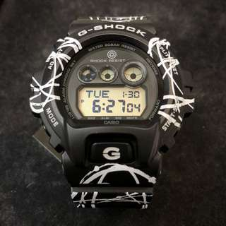 Casio G-Shock Futura limited edition GD-X6900FTR-1 GDX6900 gd-x6900ftr-1 特別 花紋