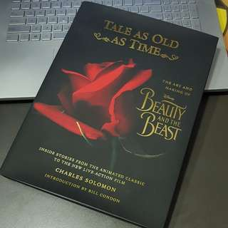 The art and making of Beauty and the beast hard cover book