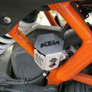 KTM Rear Brake Reservoir Cover