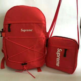 Supreme 2in1 Backpack & Sling Bag
