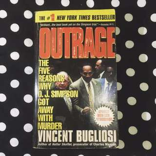 PAPERBACK: Outrage by Vincent Bugliosi