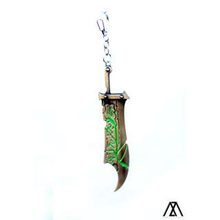 League of Legends (LOL) Keychain - Riven, The Exile, Blade