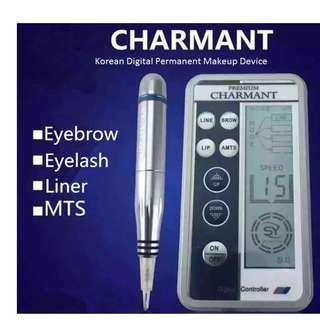 CHARMANT DIGITAL PERMANENT MAKE UP TATTOO with Practice Skin