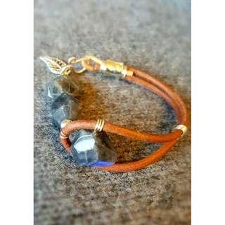 HANDMADE! Labradorite Crystal Bracelet 40025
