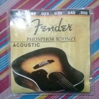 Fender Acoustic Guitar String #sweldosale3