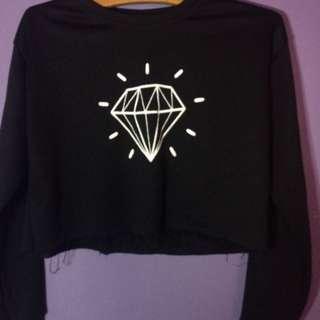 💖 Sweater crop top 💖