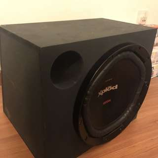 Pioneer DEH-4250SD & Sony Xplod woofer for sell