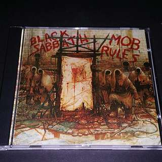 Black Sabbath (mob rules) brand new cd metal