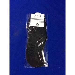 Black low cut good quality socks