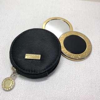 Bvlgari Compact Pocket Mirror & Pouch