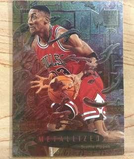 Metalized Scottie Pippen card