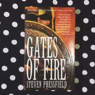 PAPERBACK: Gates of Fire by Steven Pressfield
