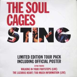 Vg sting ltd single record 12 vinyl pop rock