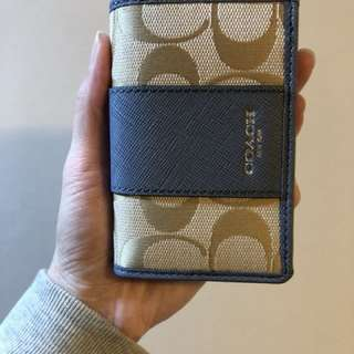 Coach Name Card Case/Coach 卡片套