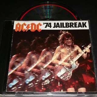 Acdc (jail break) old pressing cd rock
