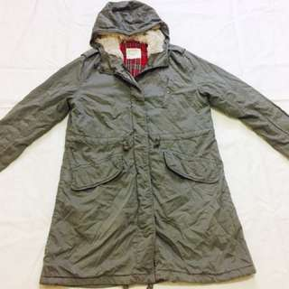 Men's Hoddie Jacket Parka Military Uniqlo