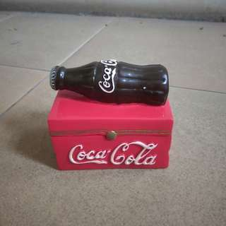Coca-Cola mini wooden box