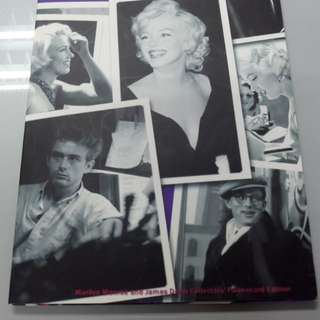 James Dean and Marilyn Monroe limited edition phone card
