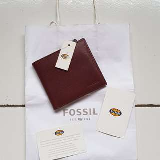 dompet fossil pria original new