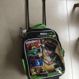Brand new Trolley Bag ben 10 with tag