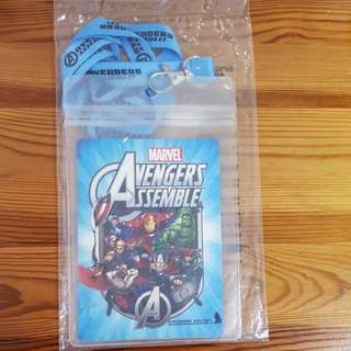 Free post - Singapore Airlines SIA - Marvel Avengers Assemble Lanyard