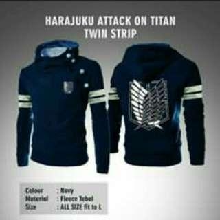 Jaket Harajuku navy