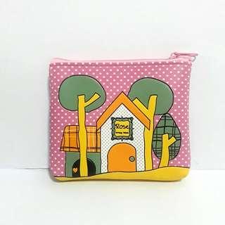 Home sweet home cute pouch