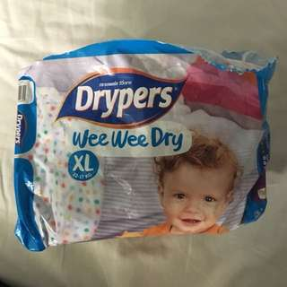 Drypers Size XL