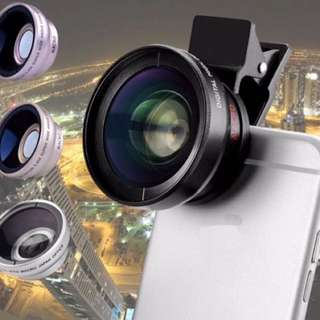 High definition 0.45x super wide angle lens