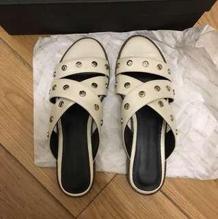 Rebecca Minkoff White sandals 6.5