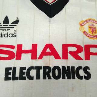 Manchester United 1982 Away Jersey