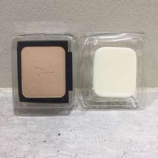 Diorskin Forever Compact Refill #010 10g + Sponge