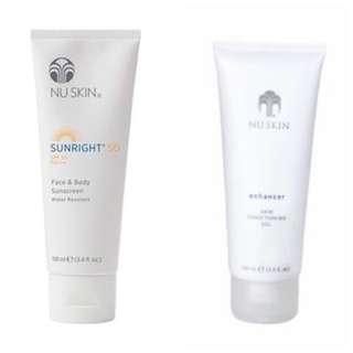 Enhancer + Sunright SPF 50